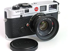 Leica M6 with Carl Zeiss G Planar 35/2 converted to M mount