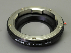 Rayqual Micro Four-Thirds adapter for Leica M lenses