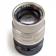 Contax G Sonnar 90/2.8 converted for Leica