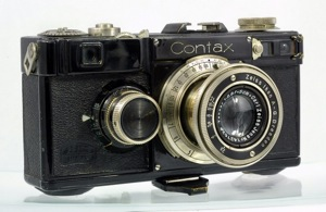Zeiss Ikon Contax I, image courtesy of Tomei Collection