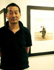 Toshio Enomoto at the Nikon Salon Ginza (Photo by Tyler Ensrude)