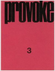 Provoke magazine cover