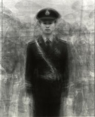 Ken Kitano, from our face, 24 guards in Tiananmen Square, Beijing, China, 2009