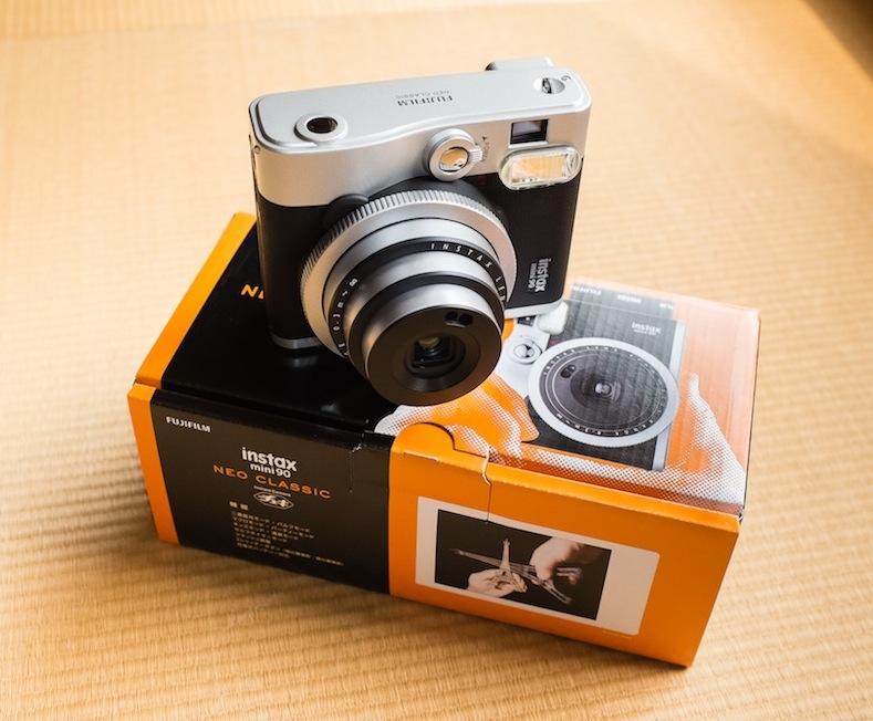 fuji s new retro instant camera now in stock japan exposures. Black Bedroom Furniture Sets. Home Design Ideas