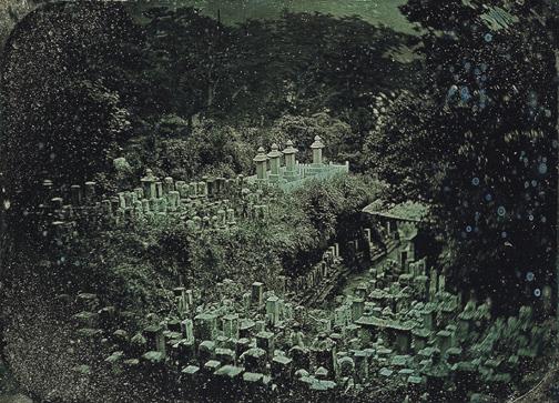 Edward Meyer Kern, American Cemetery, Gyokusen-Ji Temple, Shimoda, Japan ca 1855
