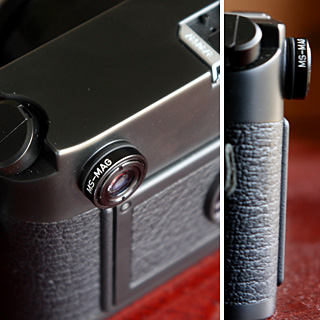 MS-MAG x1.15 magnifier for Leica M