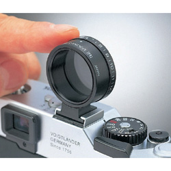 Vernier polarizer hotshoe finder