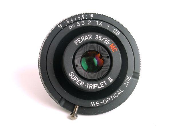 Lens :: MS Super Triplet Perar 3.5/35 Mark II