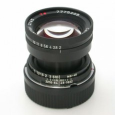 Contax G Planar 45/2 converted for Leica