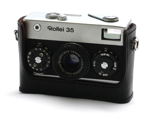 Rollei 35 35S Leather Case with Strap